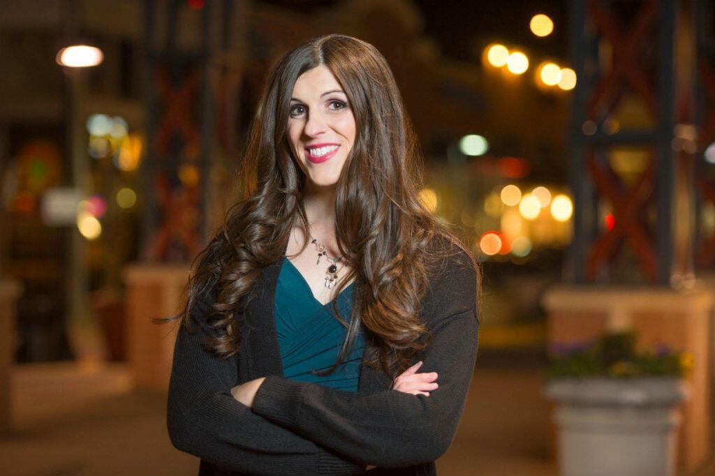 Danica Roem, candidata demócrata a la Cámara de Delegados del distrito 13 de Virginia, es fotografiada en Gainesville, Virgina en el 30 de diciembre, 2016