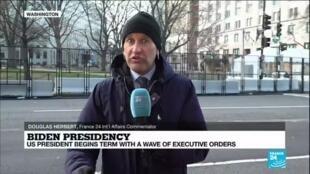 2021-01-21 15:01 Joe Biden begins term as US President with priority on tackling Covid-19 pandemic