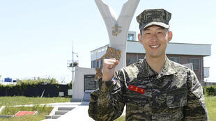 All able-bodied South Korean men are obliged to serve in the military for nearly two years