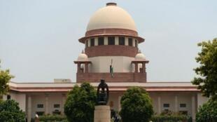 Sede de la Corte Suprema de India, Nueva Delhi. Archivo.