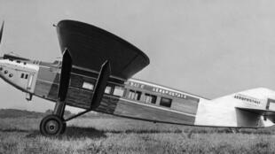 El avión Latécoère 28 de la compañía Aeropostale de los años 1930
