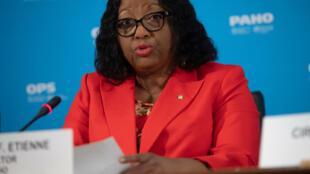 Carissa Etienne, directora de la OPS, el 6 de marzo de 2020 en Washington