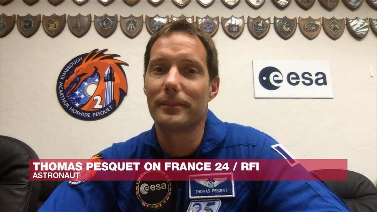 The Interview - French astronaut Thomas Pesquet: 'I'm not going to lie, it's such a joy to be out there in Space'