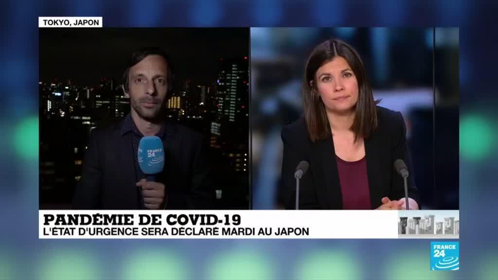 2020-04-06 14:11 Coronavirus au Japon : L'état d'urgence sur le point d'entrer en vigueur