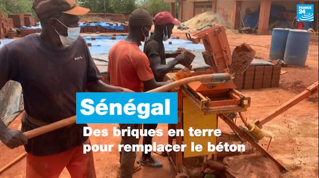 Sénégal : des briques en terre pour remplacer le béton