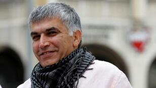 L'opposant bahreini Nabil Rajab, le 27 août 2013.