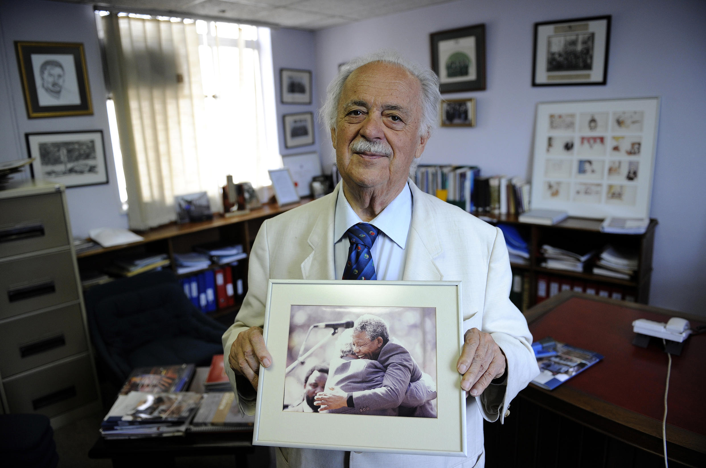 GEORGE BIZOS - MANDELA - SOUTH AFRICA