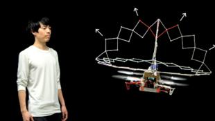 روبوت طائر قابل للتمدد لحماية نفسه والآخرين من الأذى