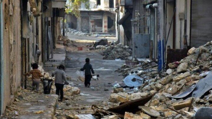 Les combats à Alep ont duré de juillet 2012 à décembre 2016.