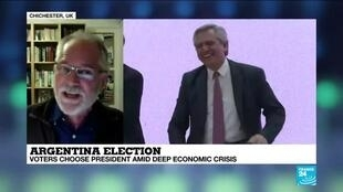 "2019-10-27 21:06 Andrew Thompson on France 24: ""Growth in Argentina lasts 1-2 years and then goes back into recession"""