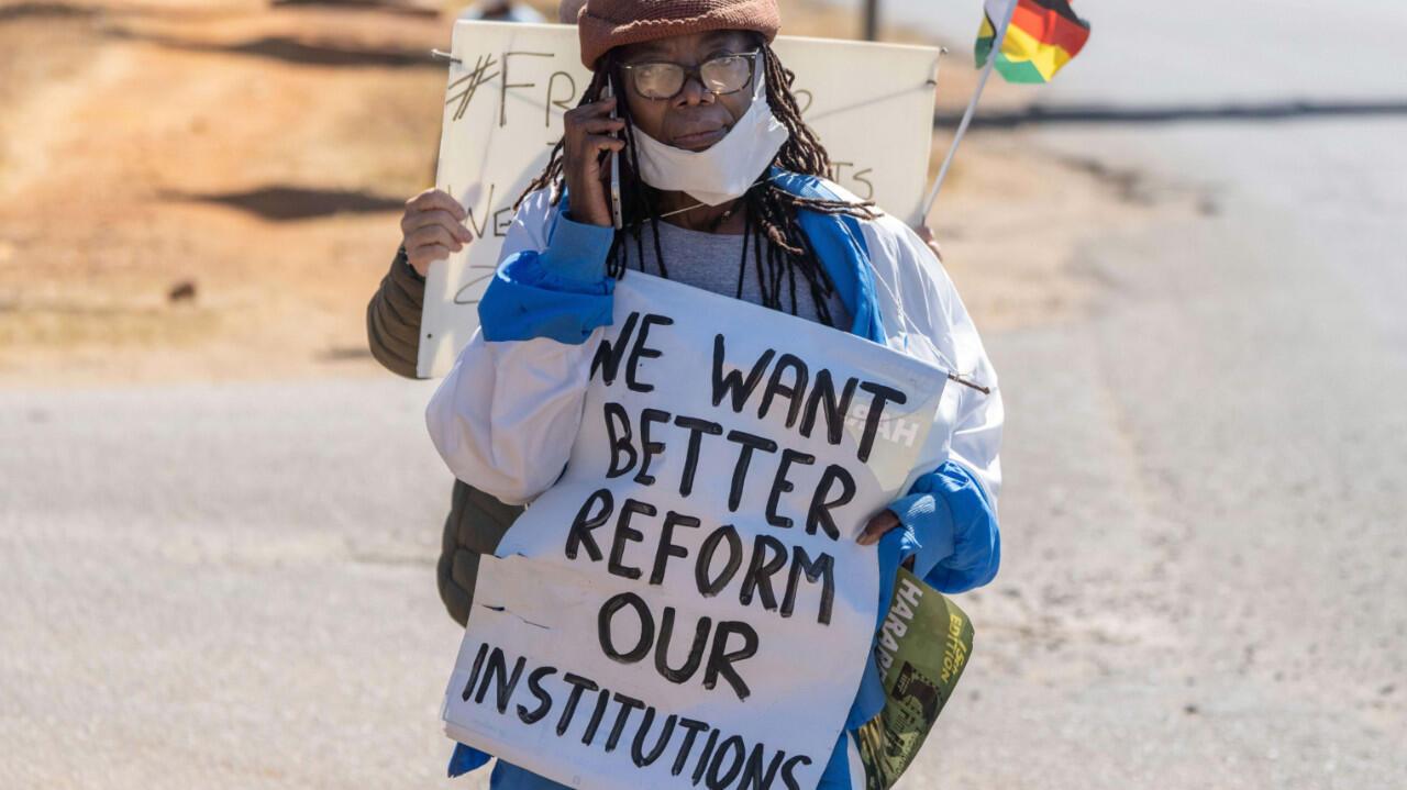 Zimbabwe-protests
