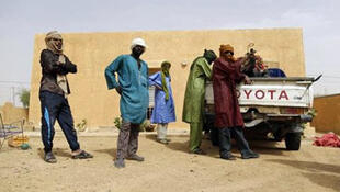 Des rebelles du MLNA, le 27 juillet 2013 à Kidal