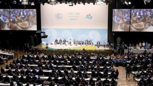 Apertura de la COP23 en Bonn, Alemania, noviembre de 2017
