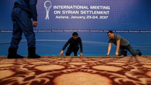 La conférence pour la paix en Syrie s'ouvre lundi 23 janvier à Astana.
