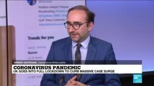 2021-01-05 11:02 Coronavirus pandemic: How UK lockdown will affect border control in Europe?