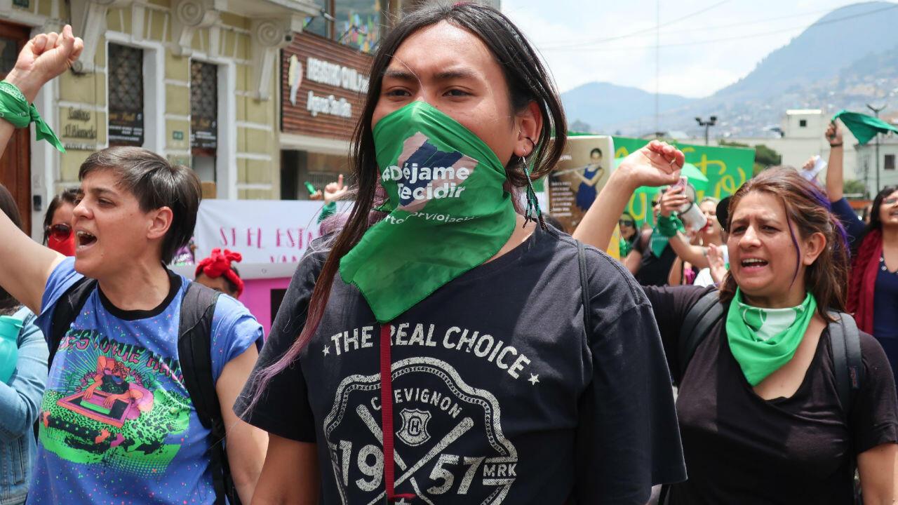 Multitudinarias marchas en en el día internacional por el derecho al aborto