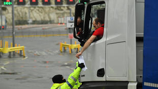 Brexit lorry paperwork