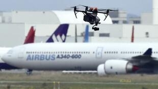 More than a nuisance, drones flying by airports pose a real danger as they could cause a deadly accident if they get sucked into an aircraft's engine