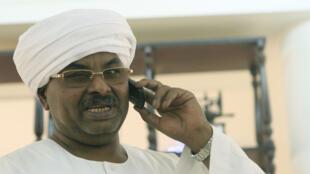 L'ancien chef du service des renseignements Salah Gosh, en 2013 à Khartoum.  ©