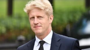 Le député conservateur Jo Johnson, ancien ministre et frère de Boris Johnson, au Parlement à Londres, le 20 juin 2019.