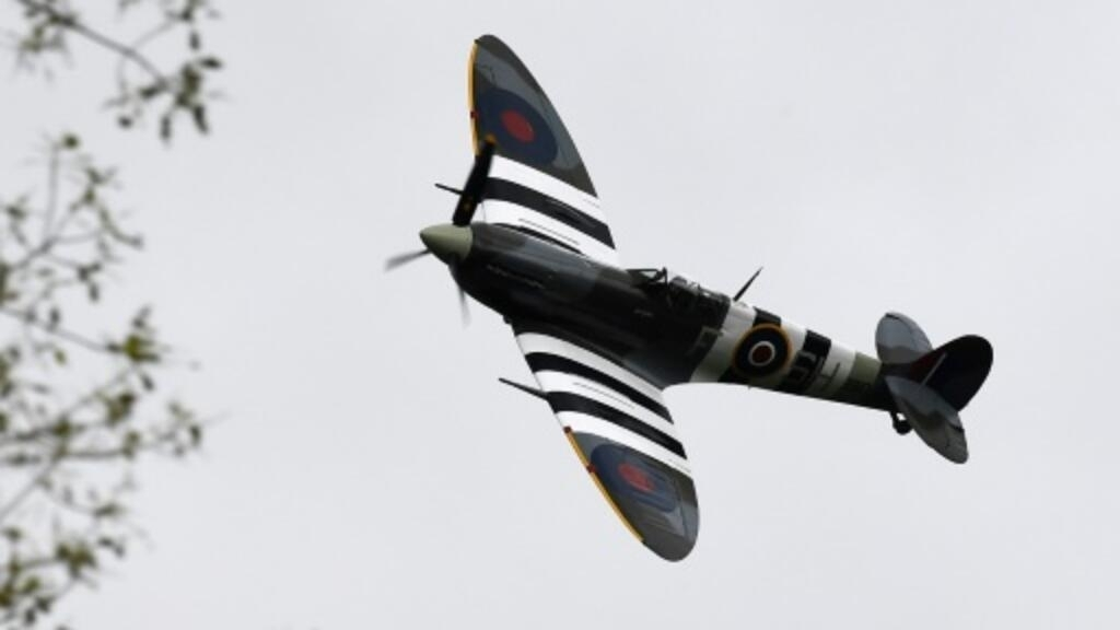Majestic' WWII Spitfire set for round-the-world flight