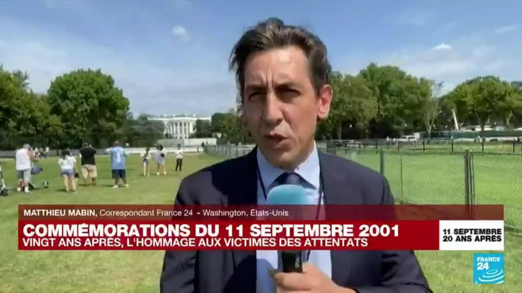 2021-09-11 18:04 'Un épilogue difficile à assumer pour Joe Biden' le jour des 20 ans du 11-Septembre