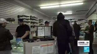 2020-03-20 14:41 Coronavirus outbreak in the US: Major spike in guns and ammunition sales amid panic