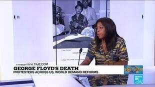 FRANCE 24's Erin Ogunkeye looks at how George Floyd's death has sparked an investigation into systemic racial abuse that has existed in the US over the centuries, June 8 2020.
