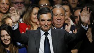 فرانسوا فيون مرشح اليمين لانتخابات الرئاسة الفرنسية في 2017
