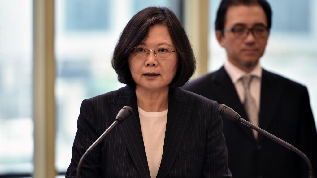 La rencontre entre Tsai Ing-wen et Ted Cruz lors d'une escale de la présidente taiwanaise à Houston, dimanche 8 janvier 2016, inquiète la Chine.