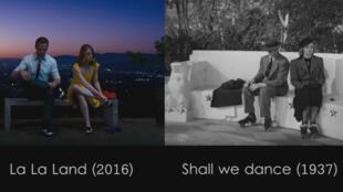 """""""La La Land"""" fait référence aux comédies musicales d'Hollywood comme """"Shall we dance""""."""