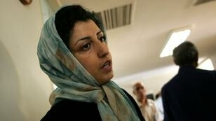 Prominent human rights activist Narges Mohammadi, seen here in 2007 at the Centre for Human Rights Defenders in Iran where she campaigned against the use of the death penalty, has been granted a three-day leave from prison to visit her ailing father