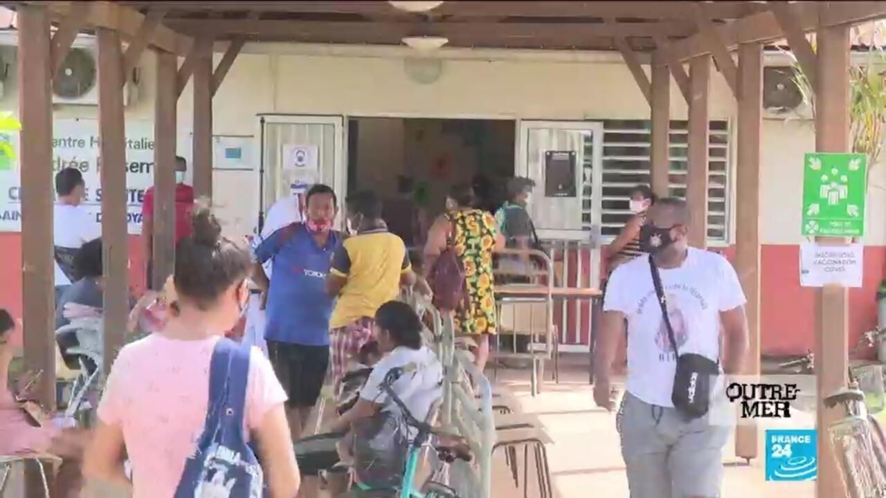 Outre-Mer - Vaccination contre le Covid-19 : en Guyane, l'afflux des frontaliers brésiliens