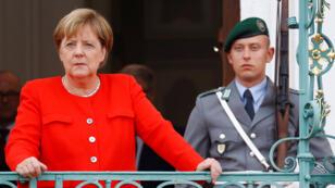 La canciller alemana Angela Merkel se refirió a la propuesta del ministro de Interior, Horst Seehofer, sobre enviar refuerzos policiales a Sajonia.