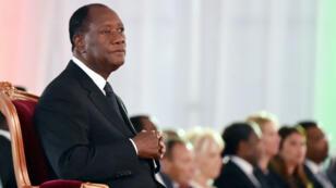 Le président ivoirien Alassane Ouattara été réélu en octobre pour un nouveau mandat de 5 ans.