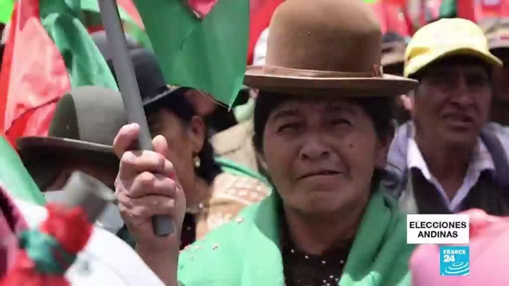 2021-04-11 14:37 Bolivia elige gobernadores en segunda vuelta