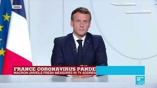 France braces for new Covid-19 lockdown rules to be detailed by PM Castex