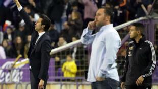 Scène pour le moins cocasse dimanche soir, lors de Valladolid - Real Madrid.