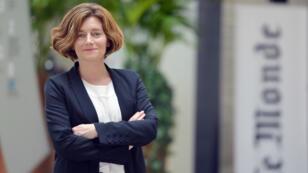"""La directrice du journal """"Le Monde"""" Natalie Nougayrede"""