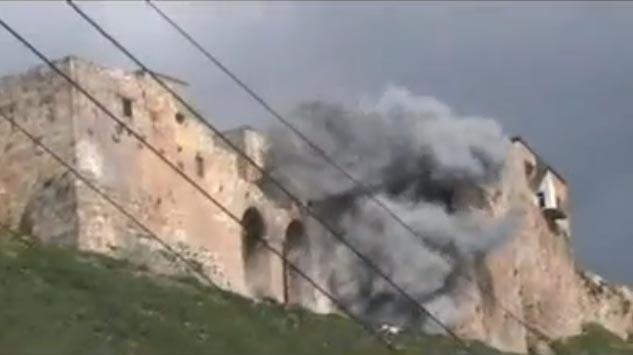 Bombardement sur la Citadelle de Madiq le 15 mars 2012