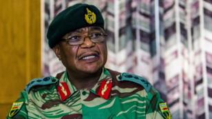 L'ancien chef militaire Constantino Chiwenga, le 13 novembre 2017, à Harare.