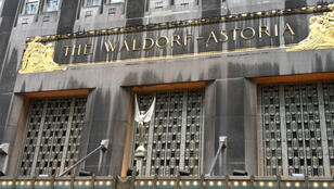 The Waldorf Astoria on Park Avenue, New York, pictured in 2010.