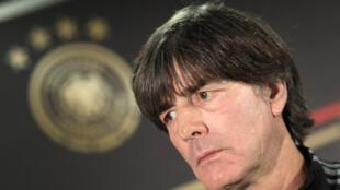 مدرب المنتخب الالماني يواكيم لوف في 18 تشرين الثاني/نوفمبر 2019