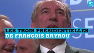 François Bayrou, président du MoDem, a déjà participé à trois présidentielles.