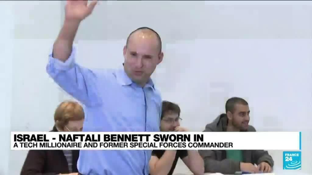 2021-06-14 17:08 Israel - Naftali Bennett sworn in: A tech millionaire and former special forces commander