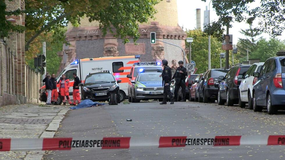 Resultado de imagen para atentado sinagoga en alemania