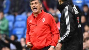 Jose Luis Mendilibar's Eibar are two points above La Liga's relegation zone