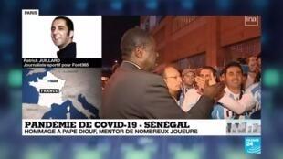 """2020-04-01 13:11 Coronavirus : """"Pape Diouf personnifie l'OM et la ville de Marseille"""""""
