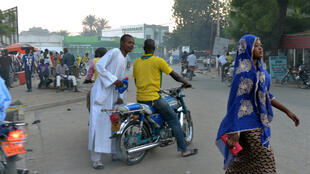 Une rue de la ville de Maroua au Cameroun, en novembre 2014.