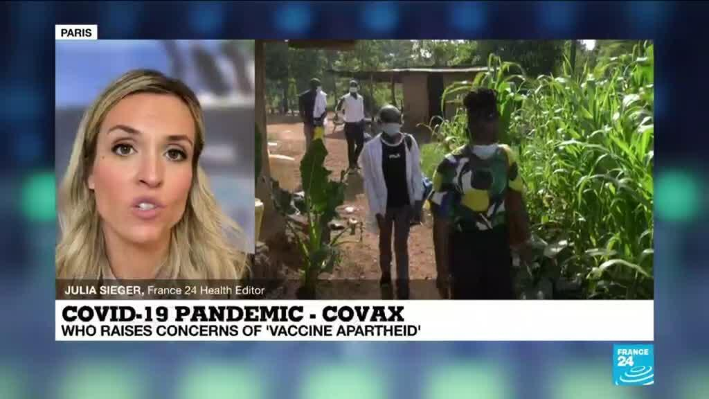 2021-05-20 16:08 Coronavirus pandemic: WHO raises concerns of 'vaccine apartheid'